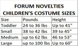 Forum Novelties Green Ninja Costume, Child Small