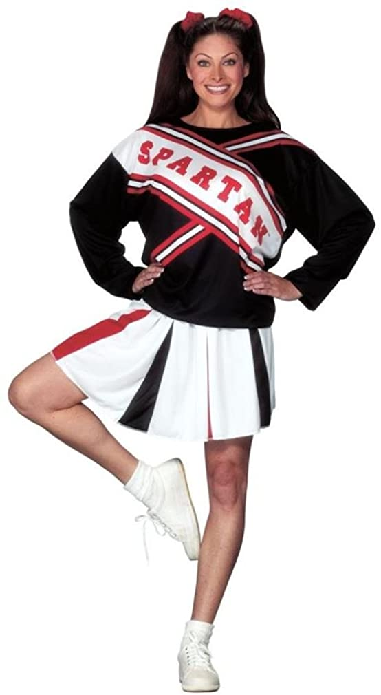 SNL Spartan Cheerleader Adult Costume - One Size