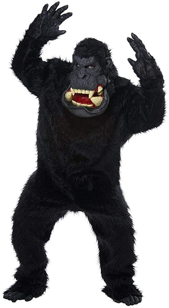 Goin' Bananas Big Mouth Ape Adult Costume