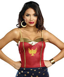 Dreamgirl 10337 Justice Top Costume, Small/Medium