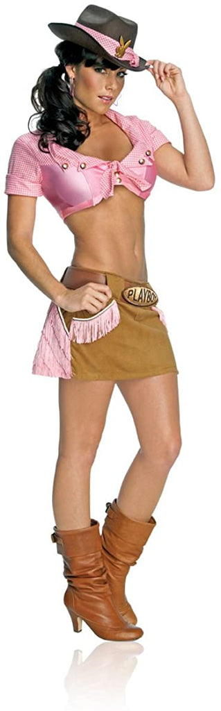 Secret Wishes Women's Playboy Cowgirl Costume