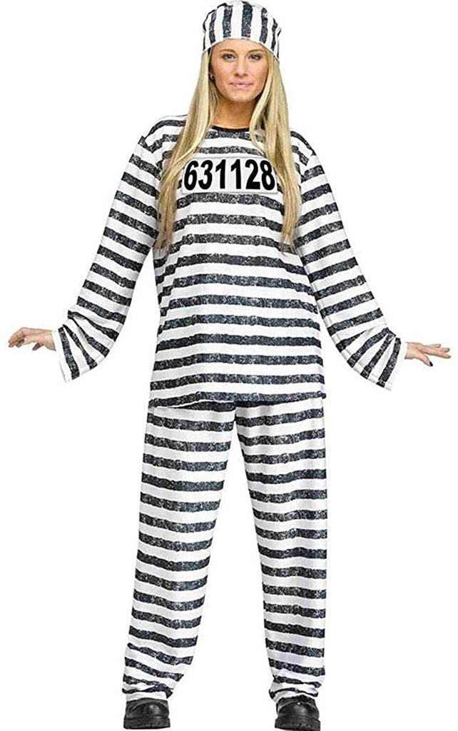 Fun World Jailhouse Honey Adult Costume