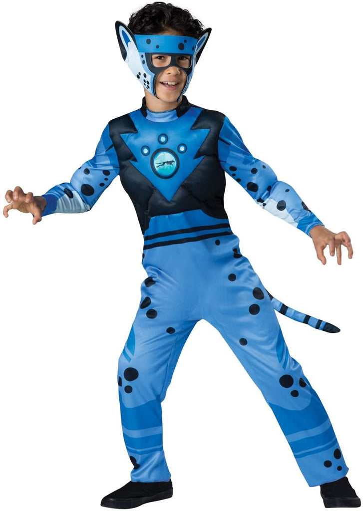 Fun World InCharacter Costumes Cheetah - Blue Costume, One Color, 6