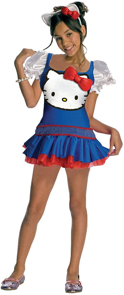 Blue Hello Kitty Costume - Girls