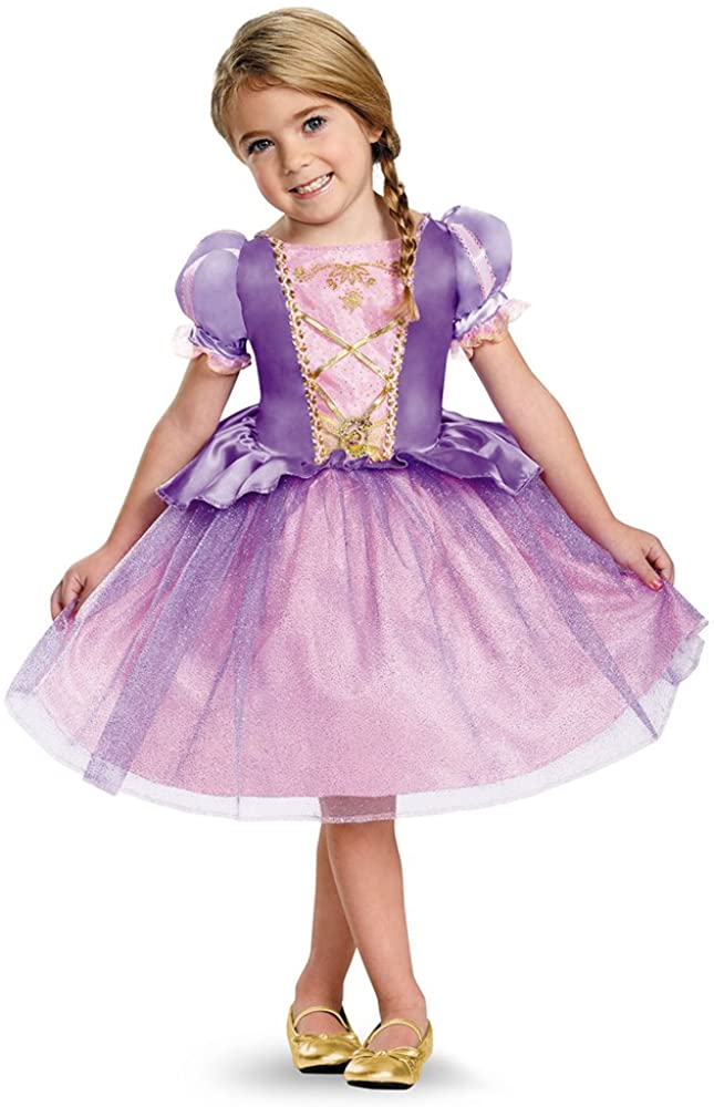Rapunzel Toddler Classic Costume, Large (4-6x)