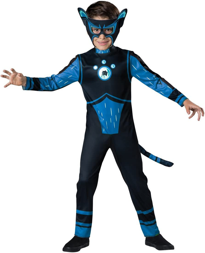 Fun World InCharacter Costumes Panther Value Costume, Blue, Size 6