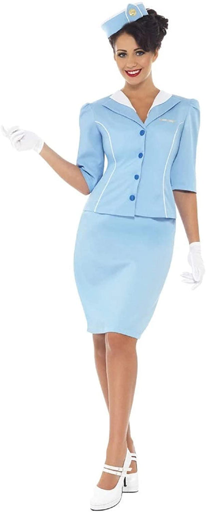 Smiffys Women's Air Hostess Costume