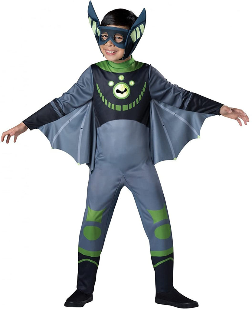 InCharacter Value Wild Kratts Child Costume Green Bat