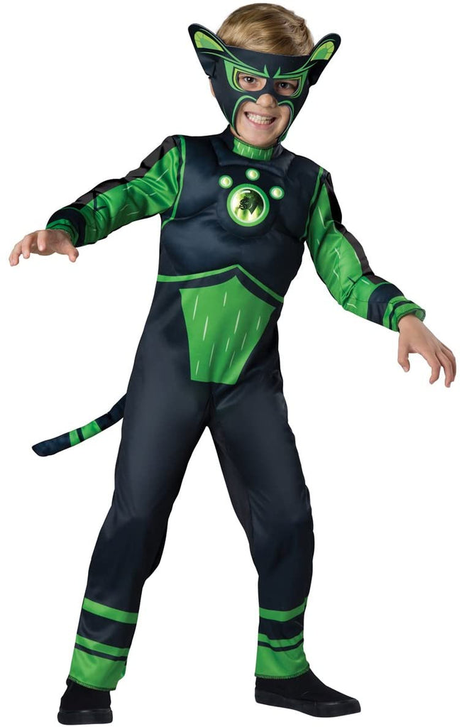 Fun World InCharacter Costumes Panther Costume, Green, Size 8