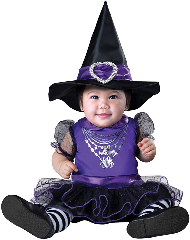 InCharacter Costumes Baby Girls' Witch and Famous Costume