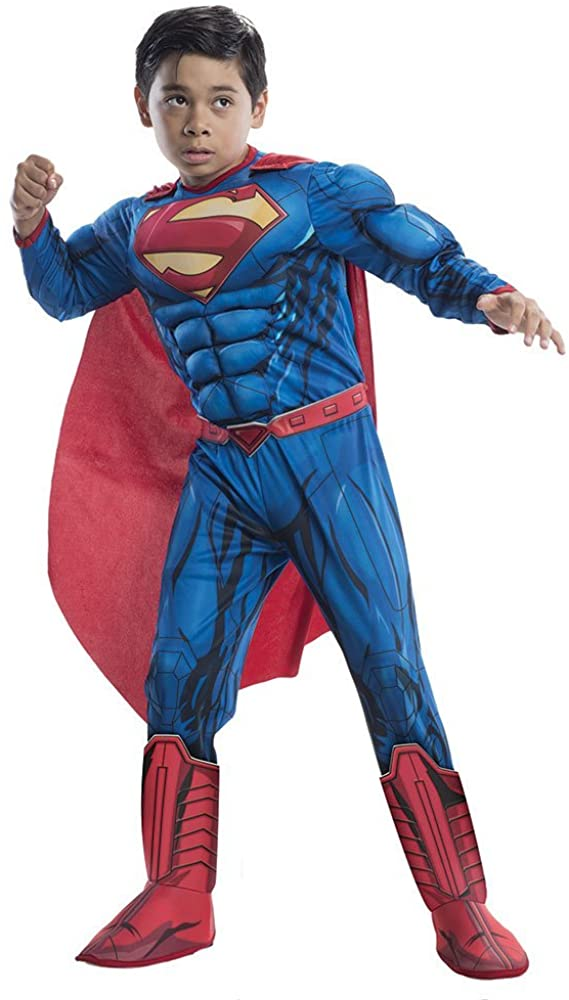 Deluxe Superman Kids Costume - Medium