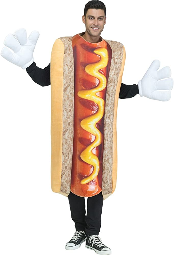 Fun World Photoreal Hot Dog Adult Costume