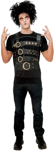 Rubie's Men's Edward Scissorhands Costume Shirt X-Large Black
