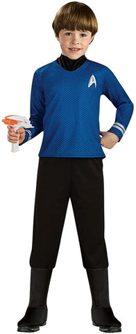 Rubie's Star Trek Blue Shirt- Deluxe Child Costume