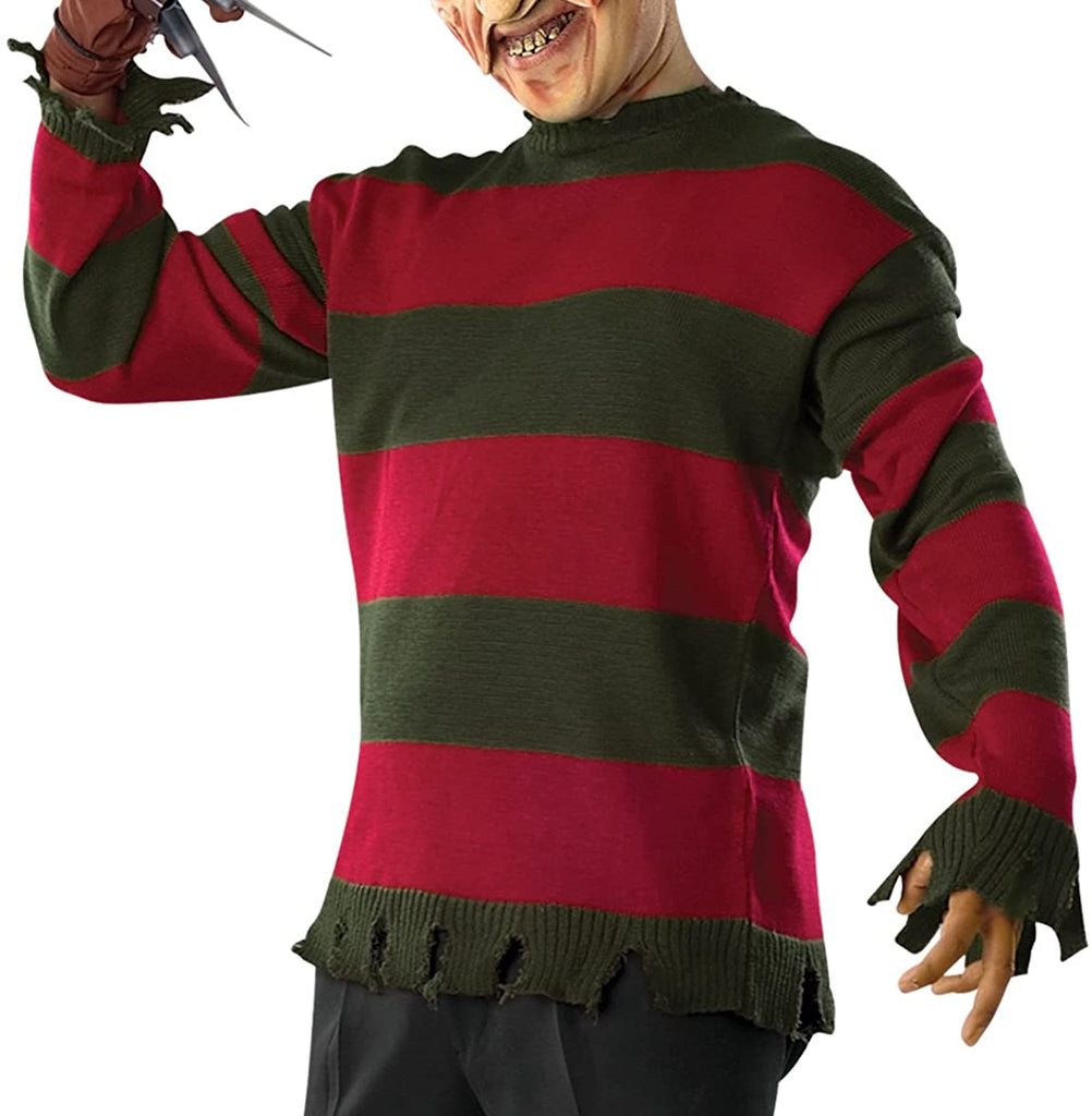 Rubie's Costume Men's Nightmare On Elm St Deluxe Adult Freddy Sweater