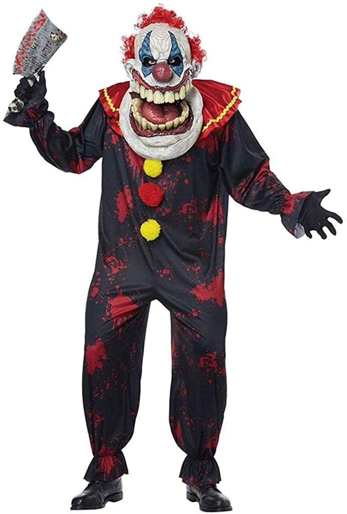 California Costumes Die Laughing Clown Adult Costume