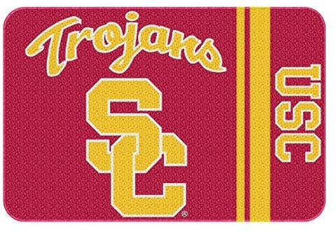 Northwest COL 336 20x30 NOR-1COL336000068WMT USC Trojans NCAA Tufted Rug, 20 x 30