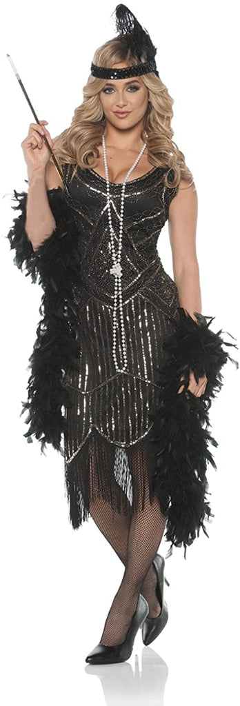Women's 1920's Flapper Costume - Gatsby Girl