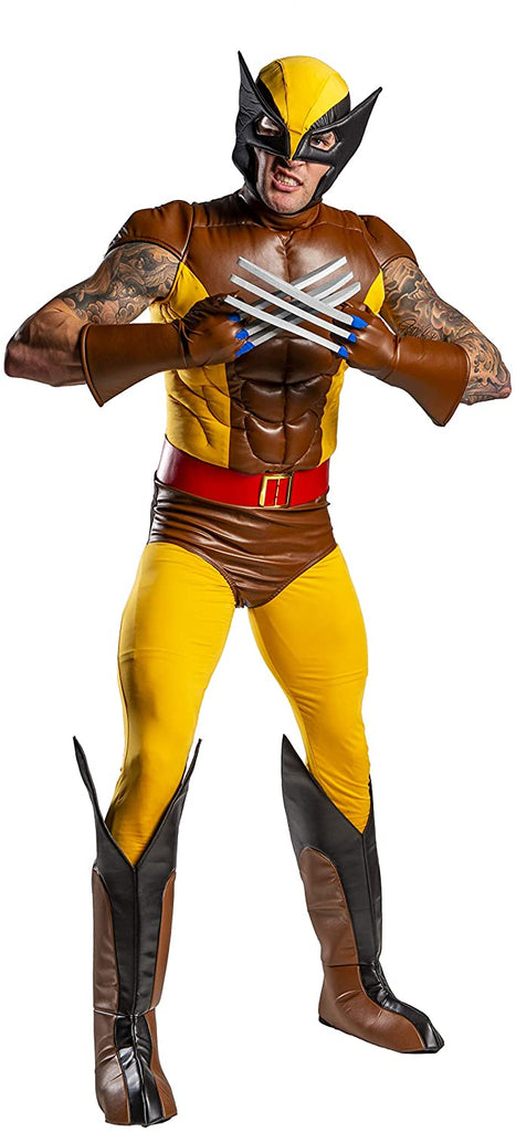 Wolverine X-Men Costume for Men