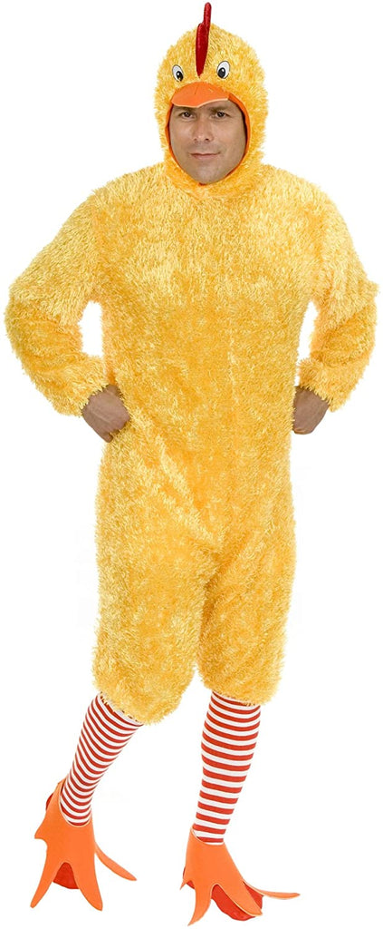Charades Unisex-Adult's Funky Chicken, Yellow