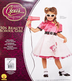Rubie's Child's 50's Beauty School Girl Costume, Small