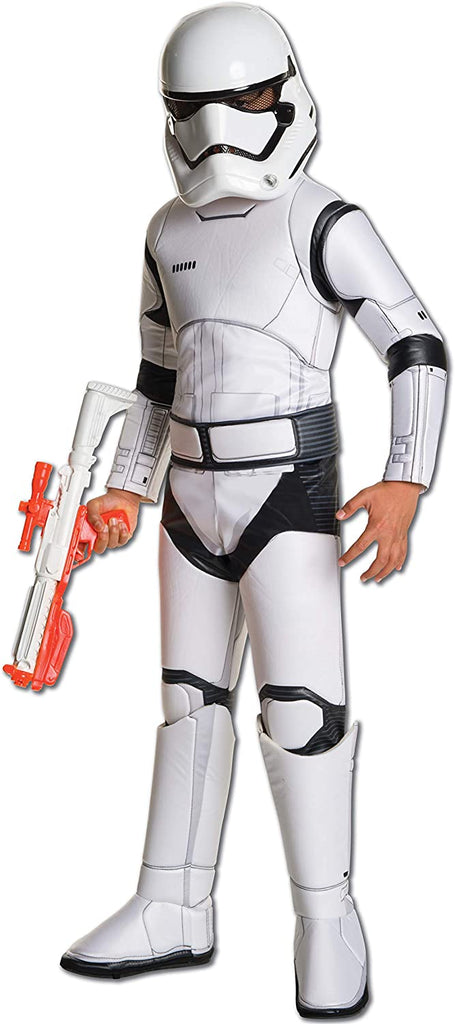 Star Wars: The Force Awakens Child's Super Deluxe Stormtrooper Costume,