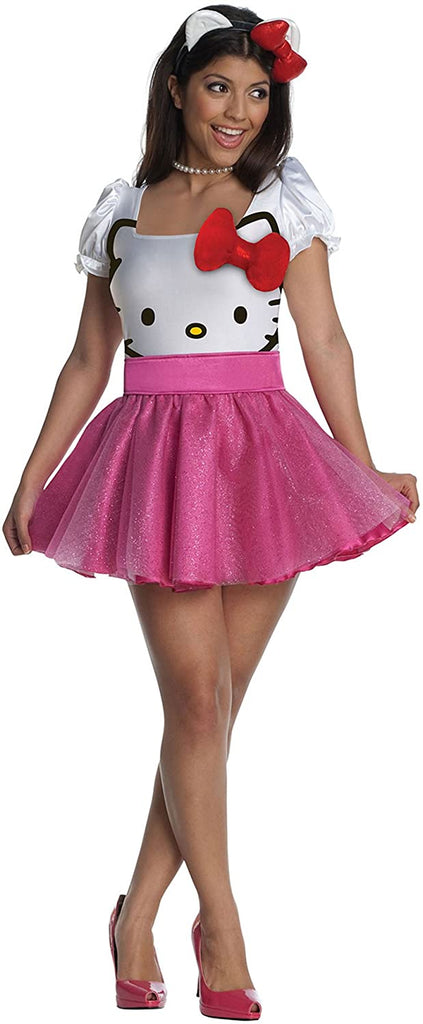 Women's Sexy Hello Kitty Tutu Costume