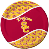 Creative Converting USC Trojans Dinner Paper Plates, 8-Count