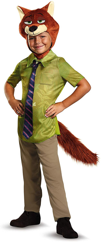 Nick Wilde Classic Zootopia Disney Costume, Small/4-6