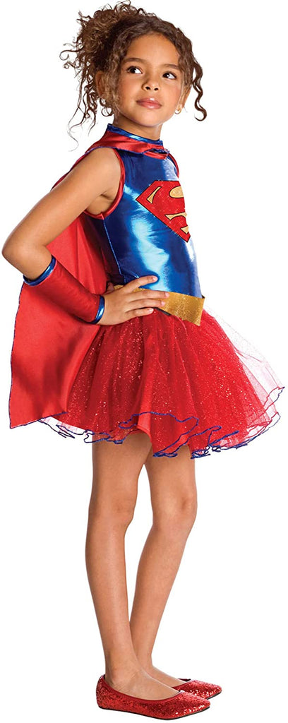 Superhero Tutu Kids Costume Supergirl - Medium