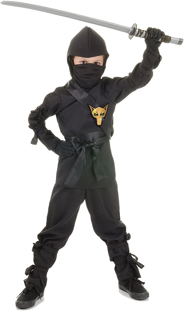 UNDERWRAPS Costumes Children's Black Ninja Costume, X-Large 14-16 Childrens Costume