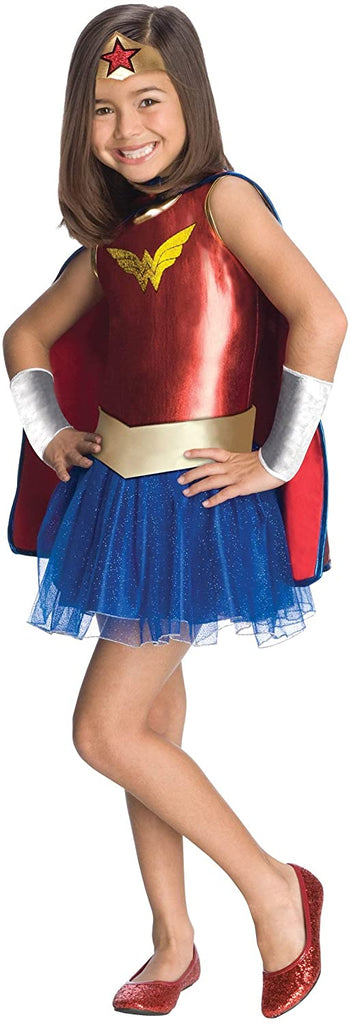 Superhero Tutu Kids Costume Wonder Woman - Medium