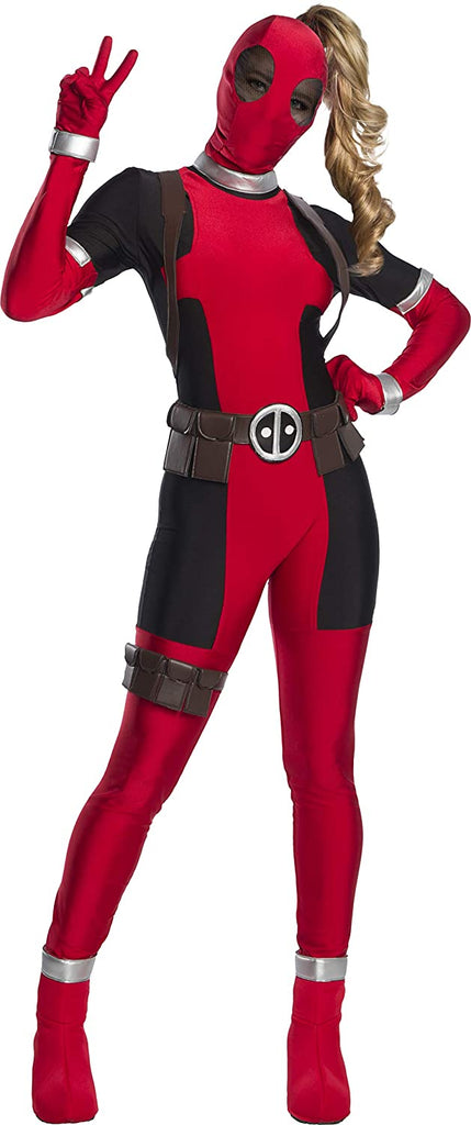 Charades Lady Deadpool Adult Costume