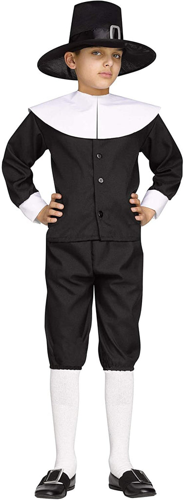 Fun World Pilgrim Boy Child Costume