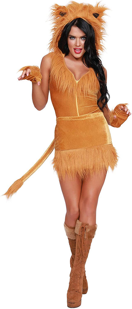 Dreamgirl Womens Queen of The Jungle Costume
