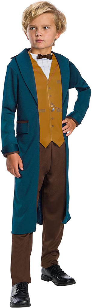 Rubie's Costume Boys Fantastic Beasts & Where to Find Them Newt Scamander Costume, Medium, Multicolor