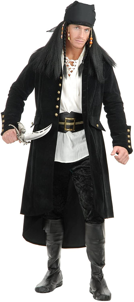 Charades Men's Treasure Island Pirate Jacket