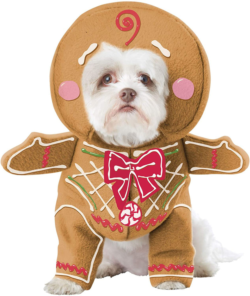 California Costumes Pet Gingerbread Pup Dog Costume Costume