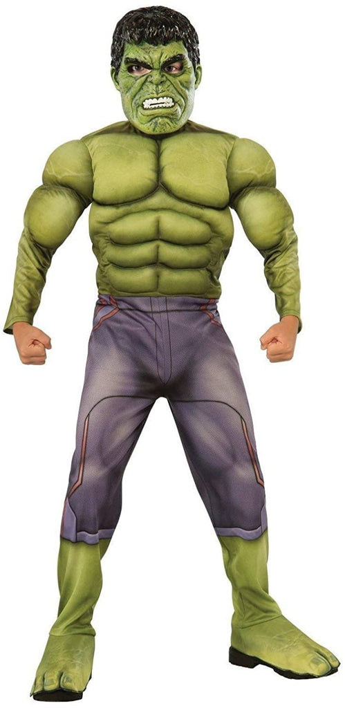 Rubies Costumes Boys The Hulk Boys Deluxe Costume - Small