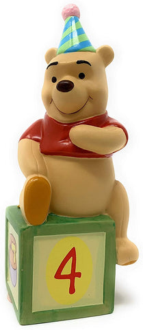 Pooh & Friends Disney Four is for Friendship That Never Ends Figurine - 2008 Release