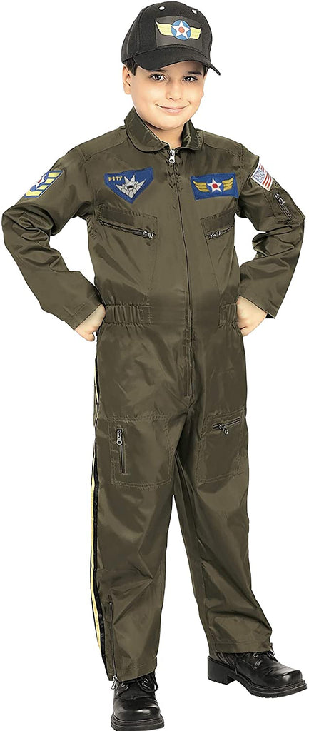 Rubie's Young Heroes Air Force Fighter Pilot Child Costume, Toddler