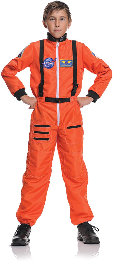 UNDERWRAPS Children's Astronaut Costume - Orange, Medium (6-8)
