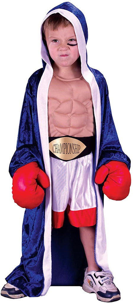Fun World Child Lil' Champ Boxer Costume Medium (8-10)