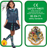 Harry Potter Costume Top, Slytherin, Small