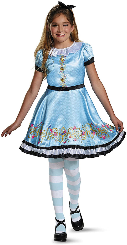 Ally Deluxe Descendants Wicked World Disney Costume, Small/4-6X