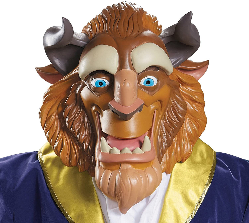 Disguise Men's Beast Mask Deluxe Costume Accessory