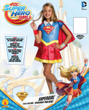 Rubie's Costume Kids DC Superhero Girls Deluxe Supergirl Costume