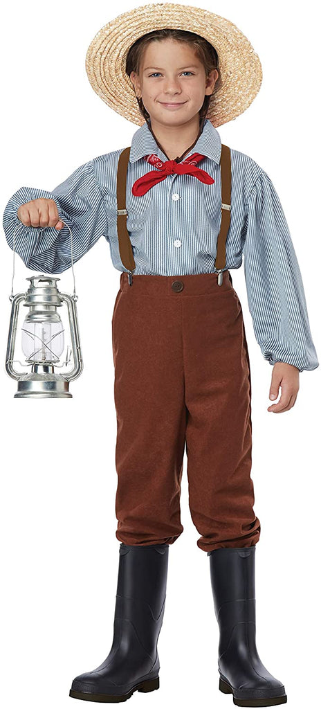 California Costumes Boys Pioneer Boy Child Costume