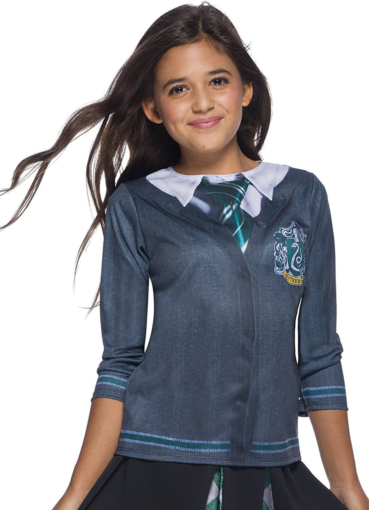 Harry Potter Costume Top, Slytherin, Large