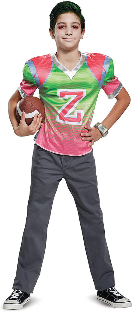 Z-O-M-B-I-E-S Classic Zed Football Jersey Costume for Kids